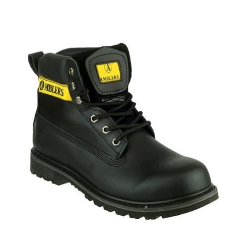 Amblers Banbury Mens Boots Black